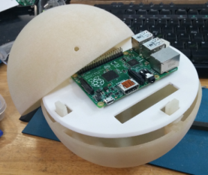 pi+and+enclosure+pi+ball